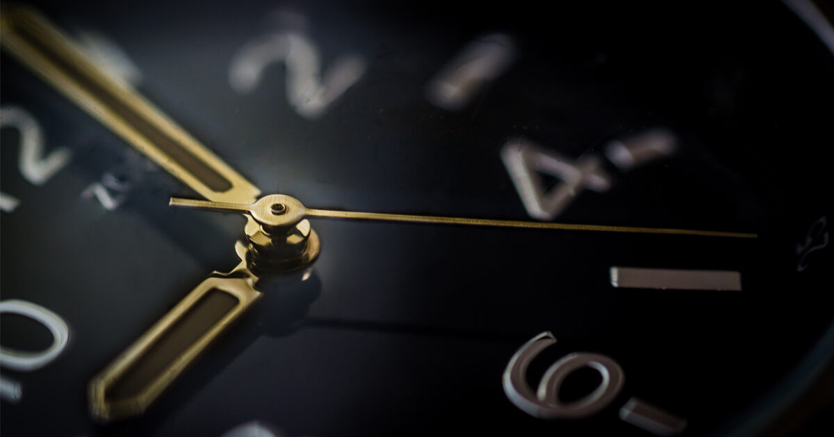 Photo d'horloge