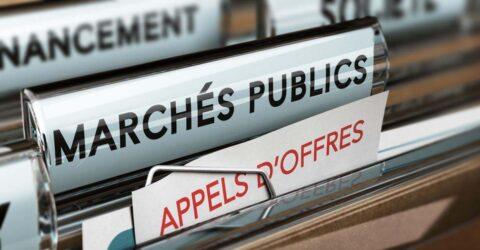 visuel marché public
