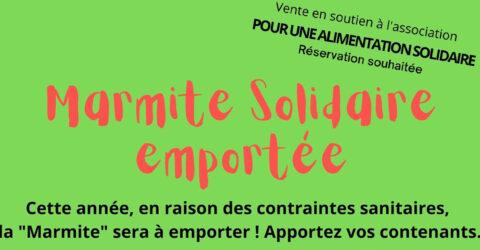 Visuel affiche Marmite solidaire 6 mars 2021