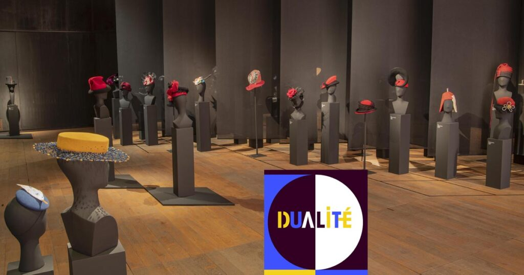 Visuel expo dualité musée du chapeau
