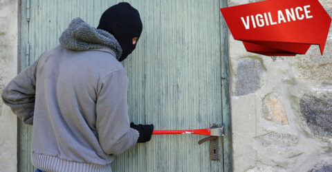 Visuel vigilance cambriolages