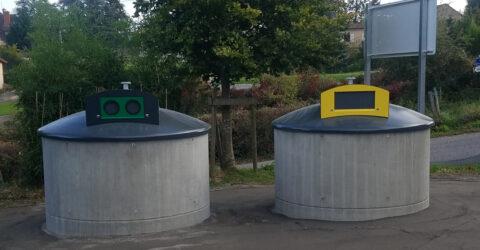 Visuel conteneurs semi-enterres